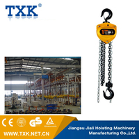 manual aluminum chain hoist for truss tower and ground support tower