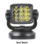 Aluminum house 12V 24VDC Remote control boat Mining marine rescue searching 80W LED search light spot led searchlight