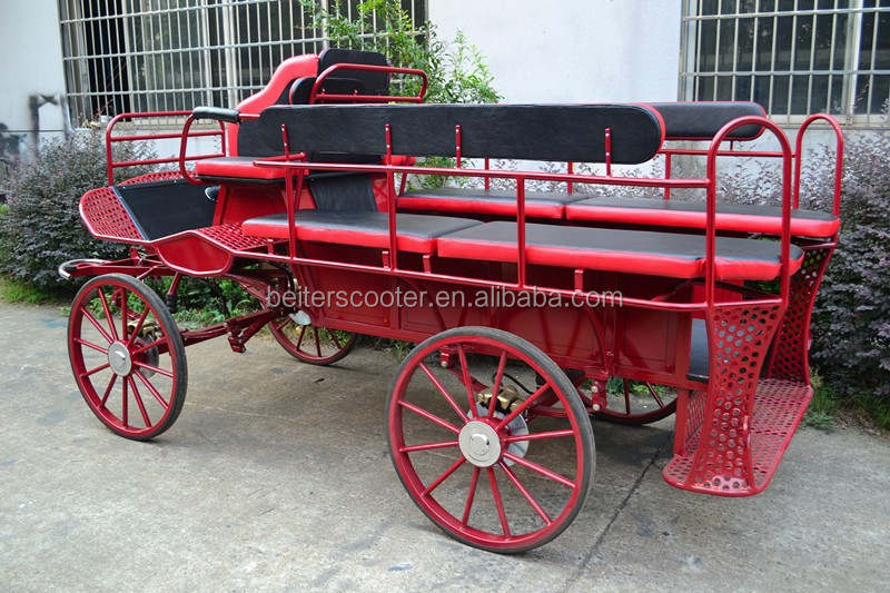 Horse drawn buggy from china