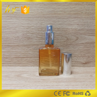 popular 30ml clear rectangle glass vapor juice bottle &cosmetic and perfume from bottle manufactory i
