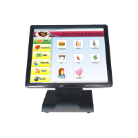 Multifunctional TM1701 5 wire resistive 17 inch touch screen display Monitor touch computer terminal