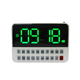 Custom gift box radio clock bluetooth alarm clock radio am/fm usb