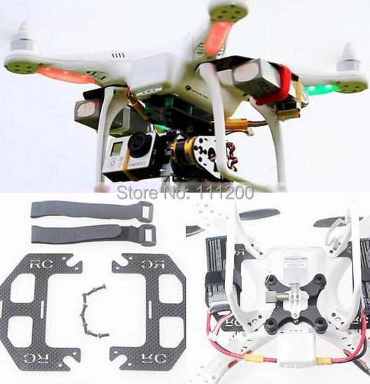 dji phantom quadcopter extended dual battery glass fiber. Black Bedroom Furniture Sets. Home Design Ideas