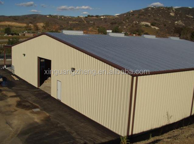 prefabricated feed mill steel structure workshop building
