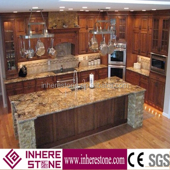 Golden Persa Yellow Kitchen Island Granite Top Buy Kitchen Island Granite Top Granite Granite Slab Product On Alibaba Com