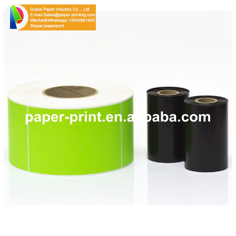 Etiqueta impressa térmica autoadesiva do papel autoadesivo da etiqueta da polegada 4x6 etiqueta térmica