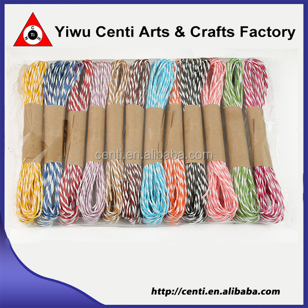 Craft Colorful Twisted Paper Twine Paper Rope