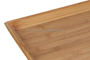 Bamboo Bed Dinner Table Tray With Mdf Factory Directly