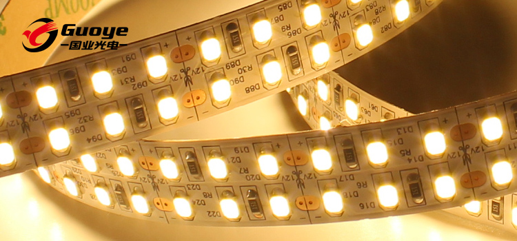 high bright 240led double row line led strip with 2835smd 240leds 24v flexible strip for Venues room lighting