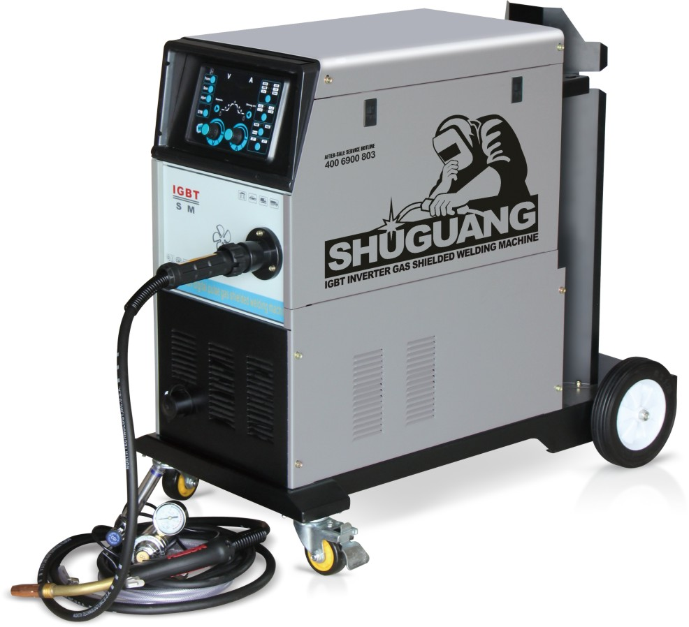 Aluminium IGBT inverter MIG welder ,CO2 inverter welding machine