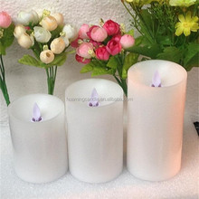 moving wick timer flameless led candles