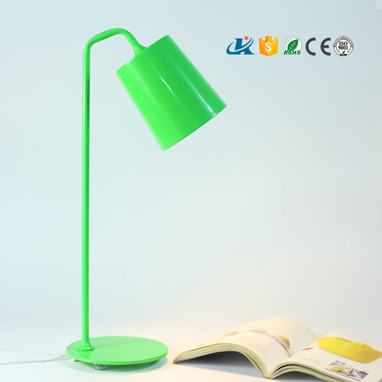Multi colours 5W led bed head reading light table lamp