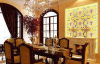 bar cafe restaurant decoration leather wall panels mdf decorative wall panel