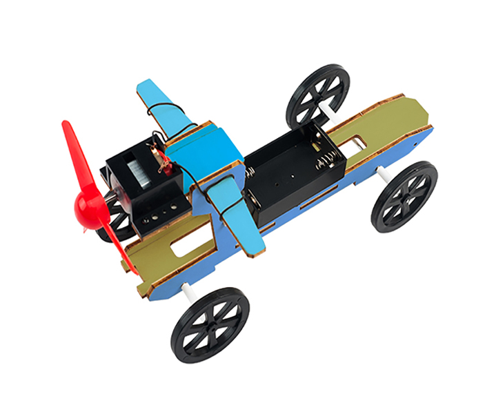 Manufacturer of DIY Reaction Thrust Car wooden science toys educational