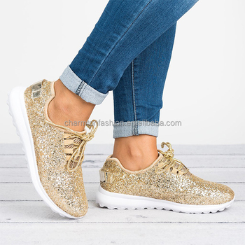 Sparkly Tennis Glitter Sneaker Shoes