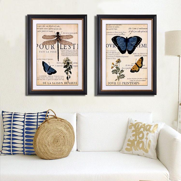 E Tinte Schmetterling Bilderrahmen Deko-ideen Bilderrahmen ...