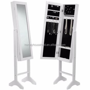 Goedkope Antieke Wit Sieraden Kast Met Spiegel Hout Sieraden Winkel Meubels Buy Hoge Kwaliteit Houten Sieraden Kastvloer Spiegel Sieraden