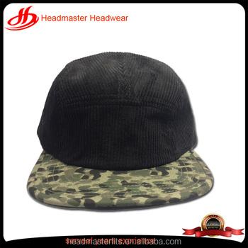 2604258c51c custom 5 panels blank corduroy snapback hat nylon plastic button corduroy  snapback cap