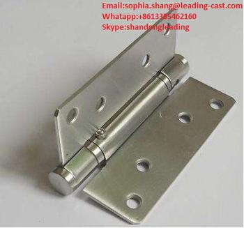 4*4*2.7MM USA Spring Door Hinge / Adjustable Door Hinge With Square