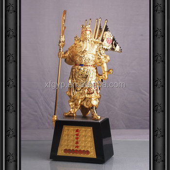 Chinese History Man Stronger Man Statue in Metal