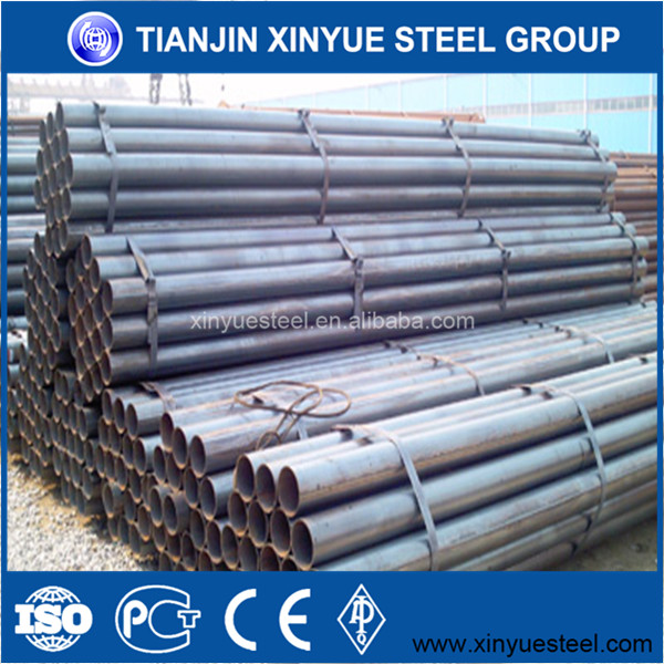 Competitive factory price Steel Fabrication EN10219 ERW STEEL PIPE