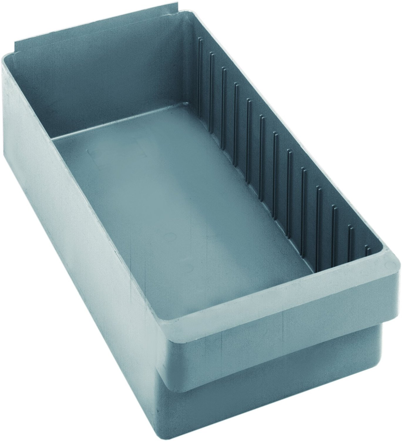 """Quantum Storage Systems QED606GY Super Tuff Euro Drawers, 17-5/8"""" L x 8-3/8"""" W x 4-5/8"""" H, Gray (Pack of 24)"""