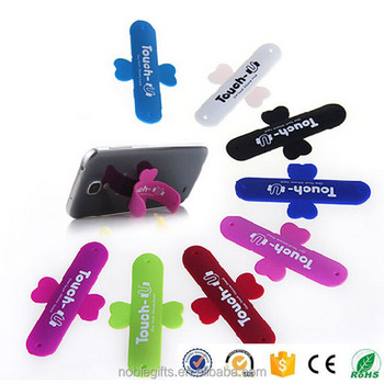 Fashionable products silicone mobile phone holder stand