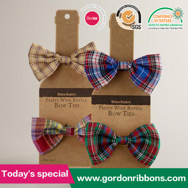 Bow ties Preppy and Wine bottles