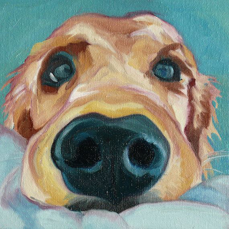 Popular Dog Oil Portraits-Buy Cheap Dog Oil Portraits lots ...