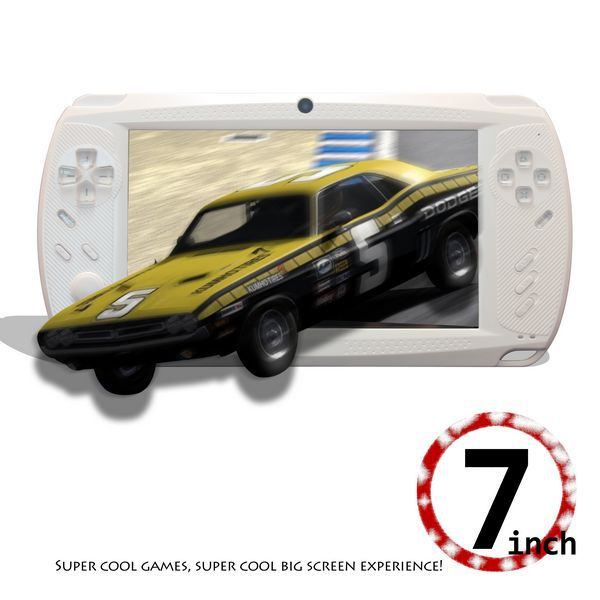 "NEW 7 "" Handheld Game Player 8GB Android 4.2 Capacitive Tablet PC Portable Game Console Multimedia Player Wifi GPS Camera  C702"