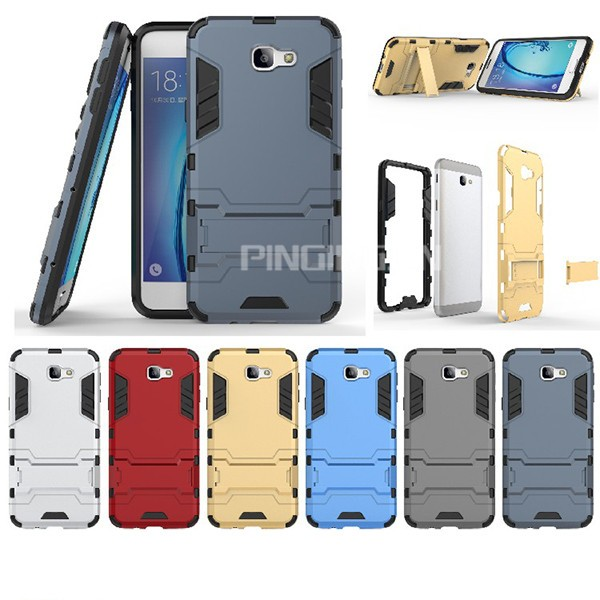 sports shoes 934b1 feea0 Heavy Duty Iron Man Armor Case Cover For Samsung Galaxy J7 Prime Kickstand  Case - Buy Case Cover For Samsung Galaxy J7 Prime,Armor Case For Samsung ...