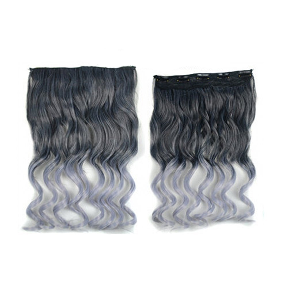 Buy Adela 177 Synthetic Curly 2 Tone Hair Extensions One Piece 5