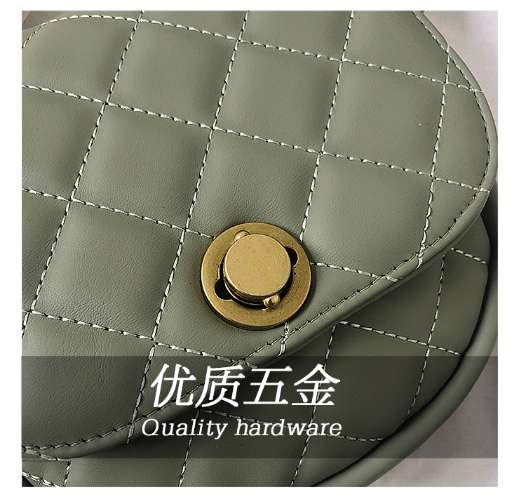 STABILE  High quality best selling lady cute cat letter single shoulder bag pu leather chest bag waist bag