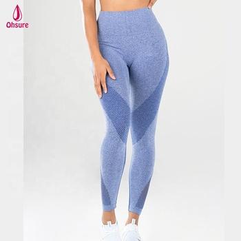 f88e2785a60fa 58% nylon 32% polyester 10% spandex womens lilac gym tights yoga pants  sports