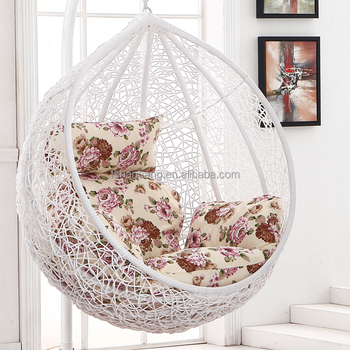 Indoor Bedroom Balcony Sunroom Rattan Resin Wicker Ceiling Hanging ...
