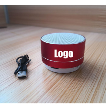 2019 new arrivals promotional gifts marketing custom logo aluminum alloy mini speakers