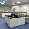 Lab Central Workbench Steel Structure for School