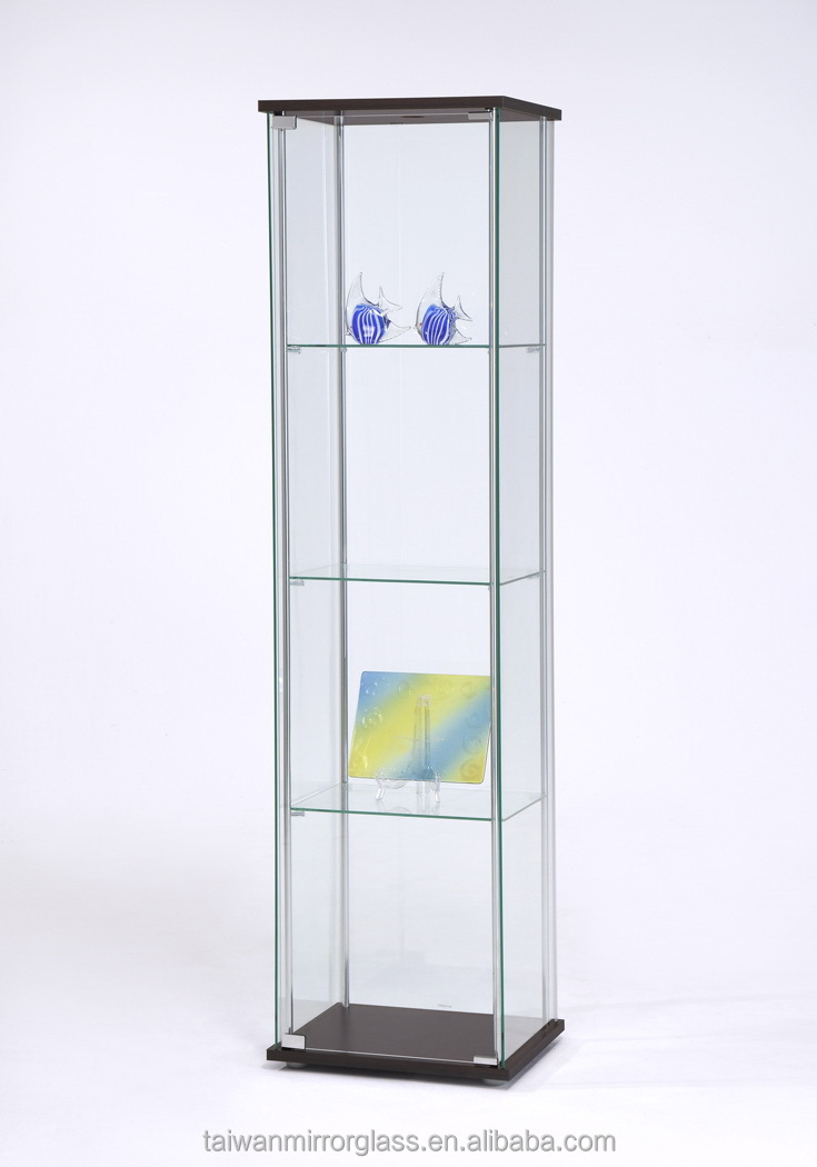 Free Standing Glass Display Cabinet
