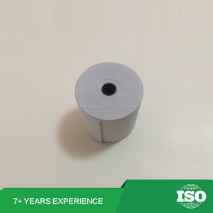76mm x 70mm bond ncr atm colorful 2 ply thermal paper roll