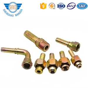 China Factory Hydraulic Fitting Metric/BSP/NPT Hydraulic Hose Crimping Fittings And Couplings