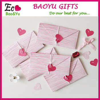 handmade paper magic fold big loving heart shape greeting cards - Big Greeting Cards