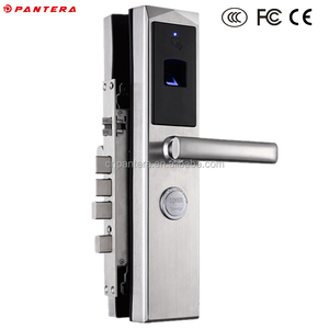 Electric Biometric Fingerprint SMS Card Open Door E Lock