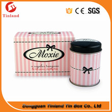 Varnishing Printing Handling Tampons Packing Tin Box