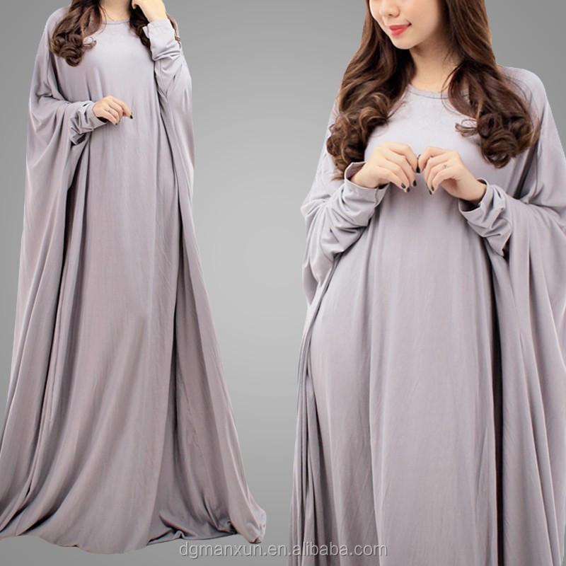 Designer Burqa Image One Piece Tunic Jubah Dress Plus Size Simple Long  Women\'s Dress Muslimah Abaya, View One Piece Tunic Jubah Dress , Manxun  Product ...