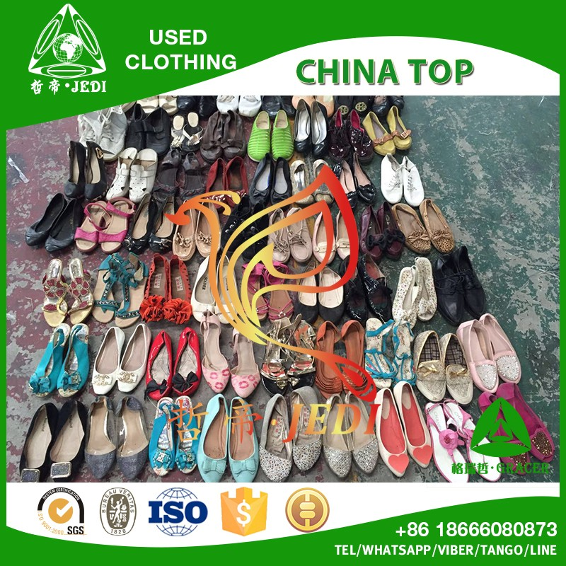 California style second hand used shoes wholesale