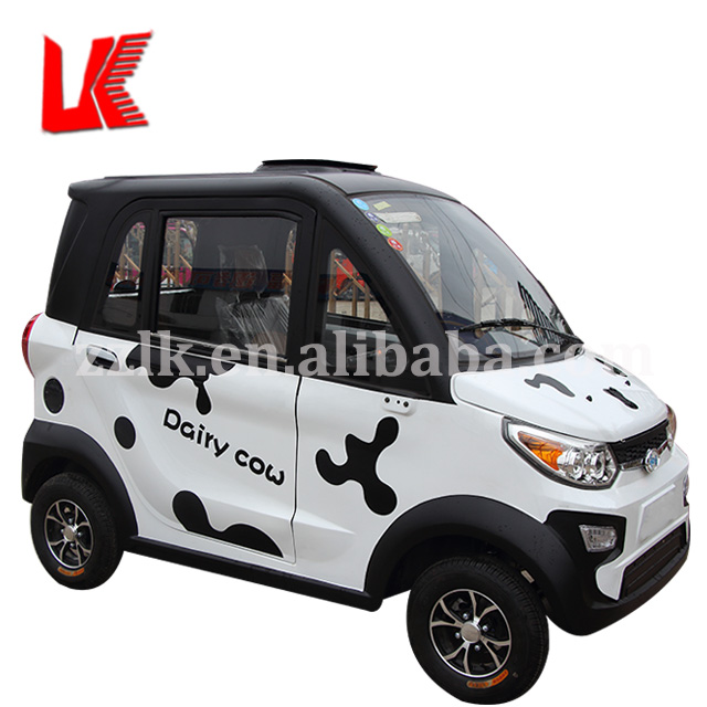 Available Electric Vehicle Range Extender 4 Wheeler Car