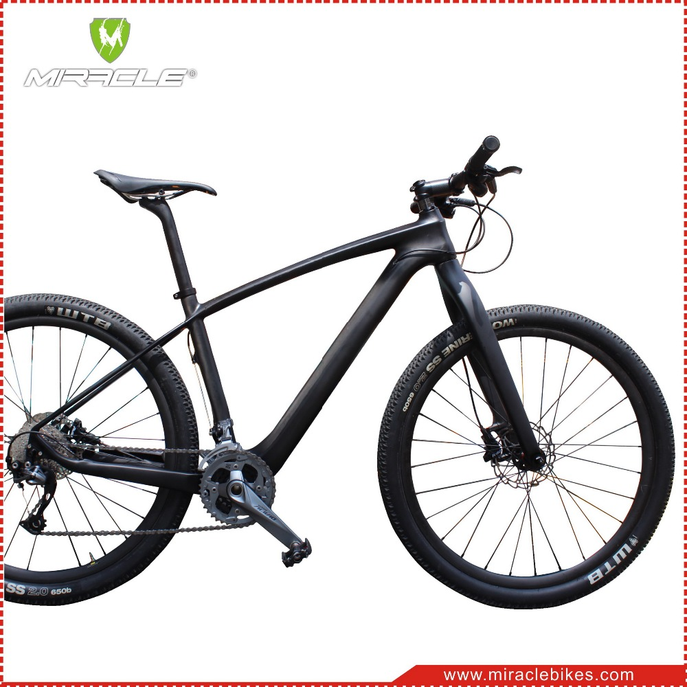 Miracle 27.5er Mountain Bikes Rigid Carbon Fork,Mtb Carbon Fork 650b ...
