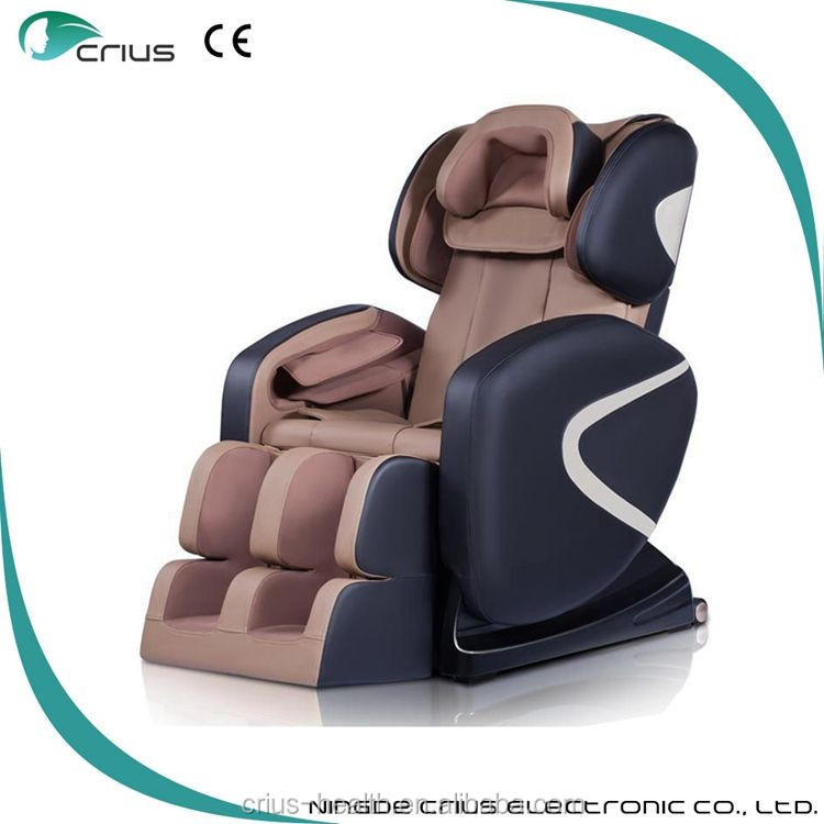 Fashionable design with optional color kneading massager full body shiatsu massage chair recliner