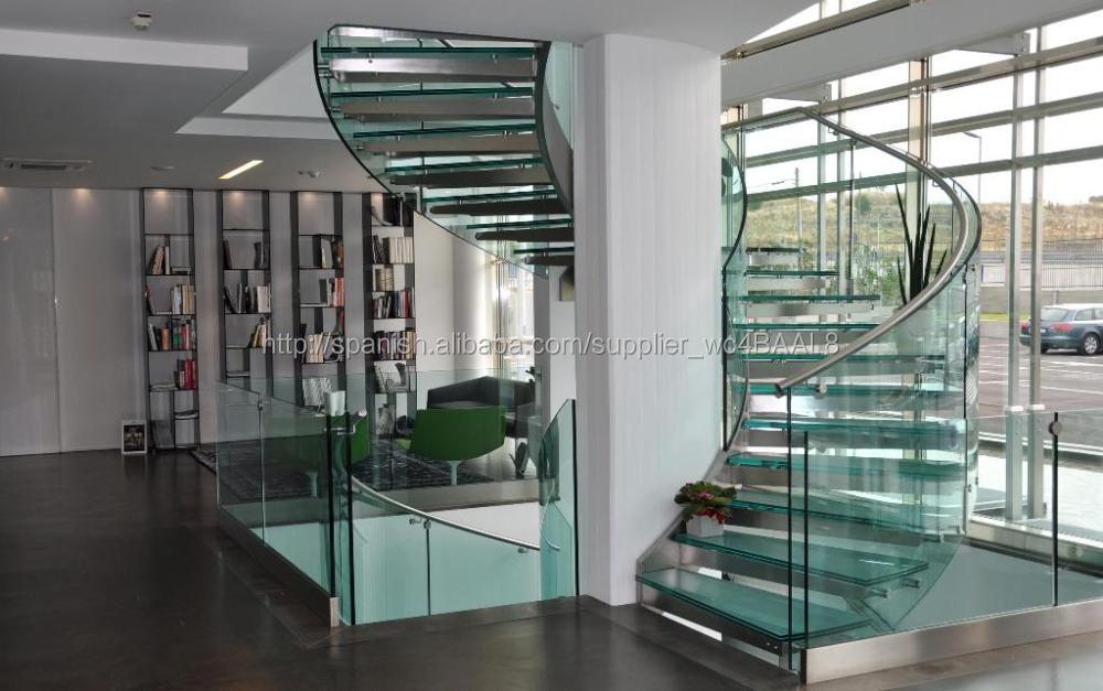 vidrio templado para curvo interna escaleras pasamanos as como para balcn pasamanos