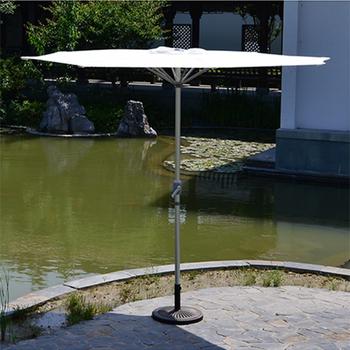 New Shape Flat Top Umbrella Patio Market